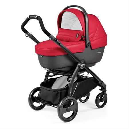 Peg Perego Book Plus Sportivo 2017 Bloom Red Gestell Schwarz Navetta