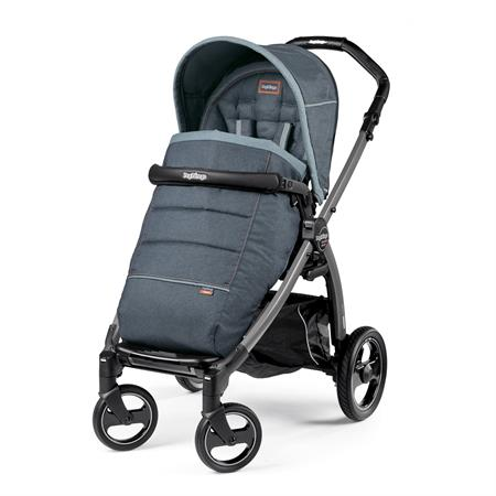 Peg Perego Book S Completo Blue Denim Gestell S Jet