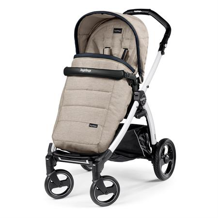 Peg Perego Book S Completo Luxe Beige Gestell S Weiss