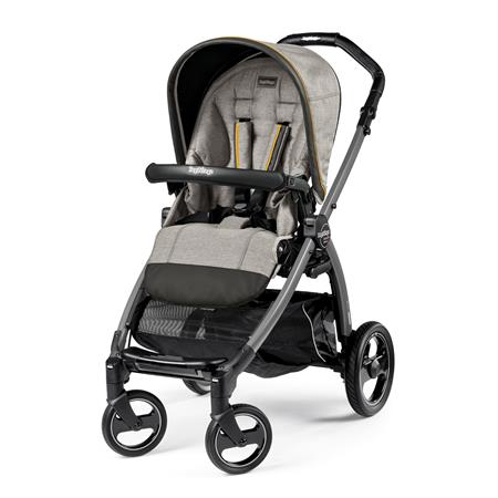 Peg Perego Book S Completo Luxe Grey Gestell S Jet Ohne Beindecke