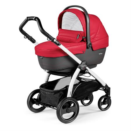 Peg Perego Book S Sportivo Bloom Red Gestell S Weiss Navetta
