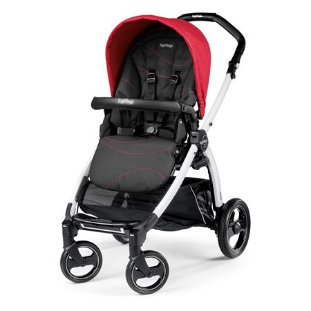 Peg Perego Book S Sportivo Bloom Red Gestell S Weiss