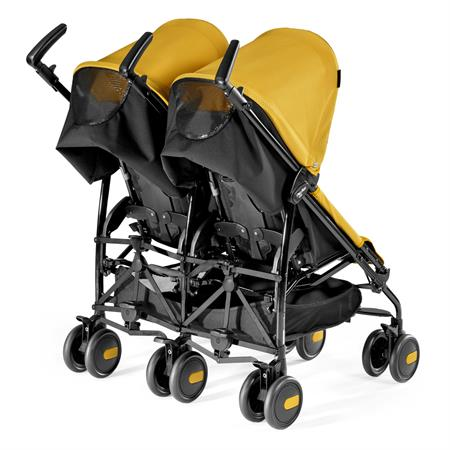 Peg Perego Pliko Mini Twin Mod Yellow Back
