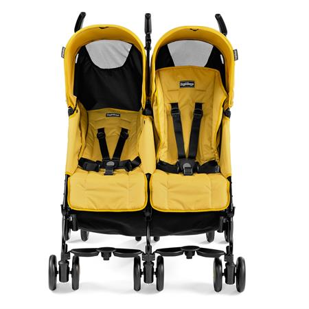 Peg Perego Pliko Mini Twin Mod Yellow Front Liegefunktion