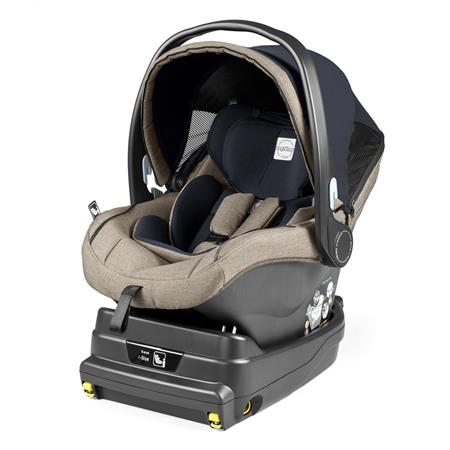 Peg Perego Primo Viaggio i-Size silla de coche bebé con base Luxe Ecru