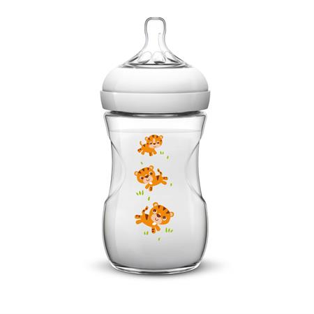 Philips Avent Naturnah Flasche 260ml Tiger