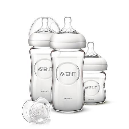 Philips Avent Naturnah Neugeborenen-Glas-Set