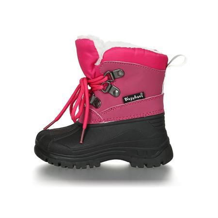 Playshoes Winter-Bootie zum Schnüren Größe 28/29 Pink