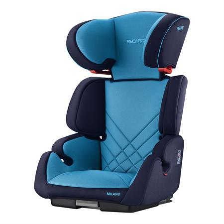Recaro Kindersitz Milano Seatfix Design 2017 Xenon Blue
