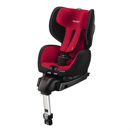 Recaro Kindersitz Optiafix Design 2017 Racing Red