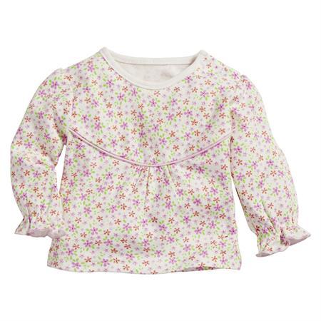 Schnizler Sweat-Shirt Interlock Blumen