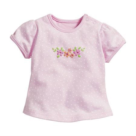 Schnizler T-Shirt Interlock Blumen