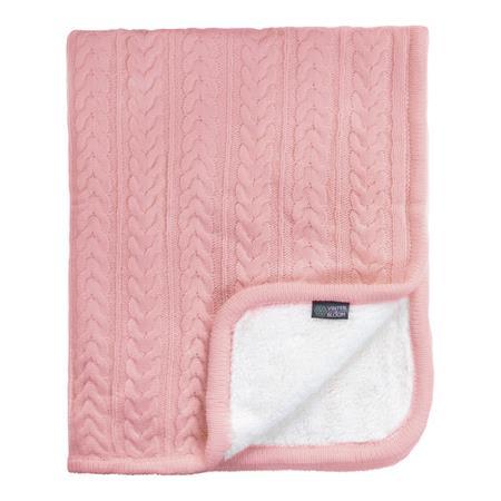 Vinter & Bloom Decke Cuddly 100 x 80cm Dusty Pink