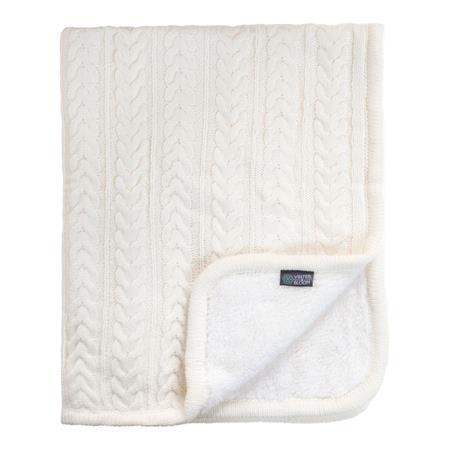 Vinter & Bloom Decke Cuddly 100 x 80cm Ivory