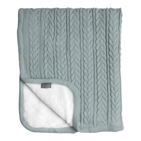 Vinter & Bloom Decke Cuddly 100 x 80cm Sage Green