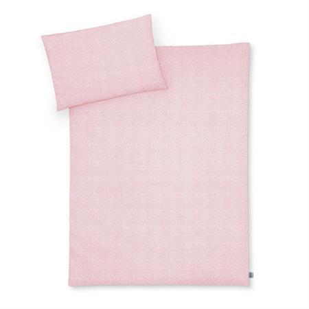 Zöllner Bettwäsche 100x135 + 40x60 cm Tiny Squares Blush