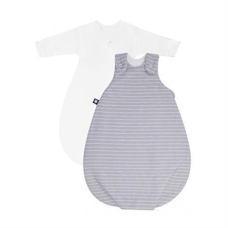 Zöllner Babyschlafsack Cosy Grey Stripes 56/62