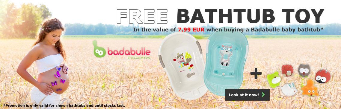 Free badabulle bathtube toy