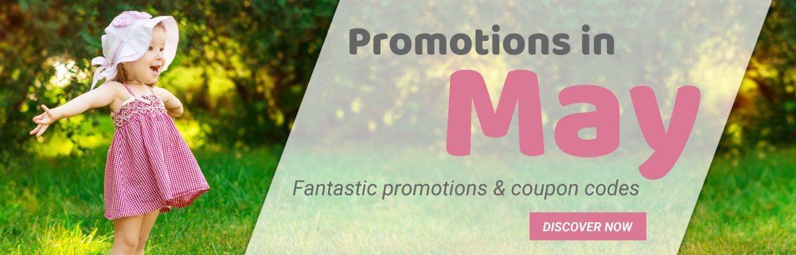 Our promotions in may