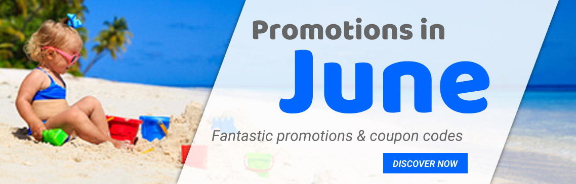 Our promotions in june