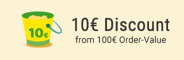 10 EUR sparen!