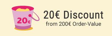 20 EUR sparen!