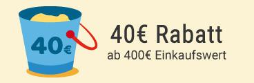 40 EUR sparen!
