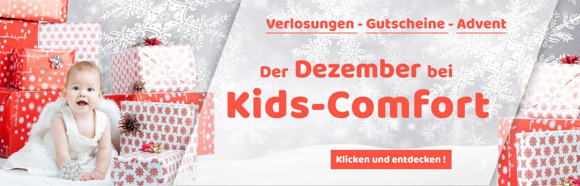 Tolle Aktionen und Gutschein-Codes im Dezember bei Kids-Comfort