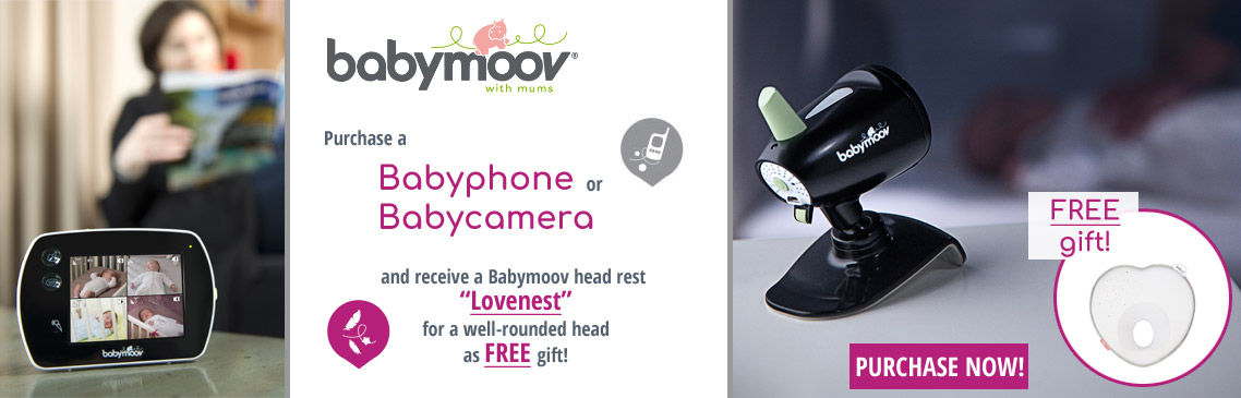 Purchase a babymoov babyphone and get a lovenest for free