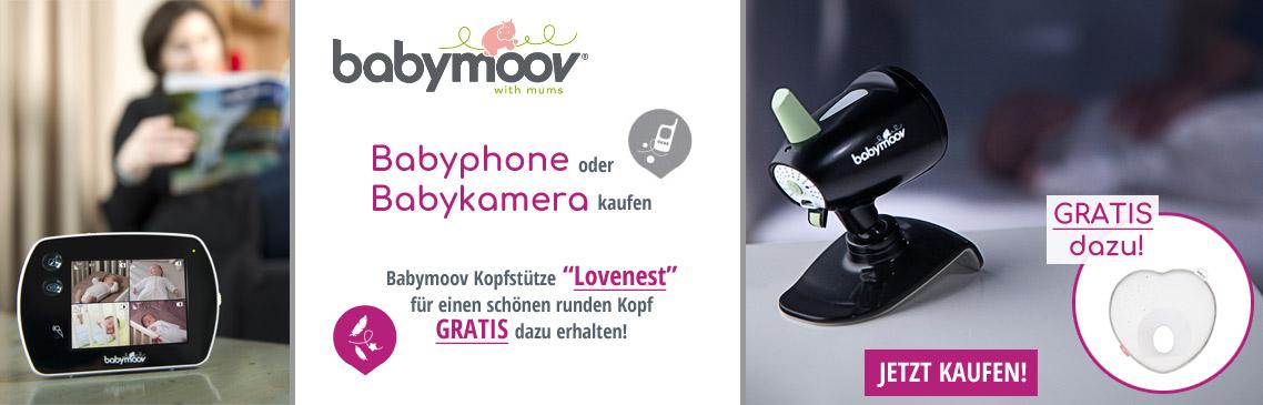 Babymoov Babyphone kaufen und GRATIS Lovenest dazu erhalten!