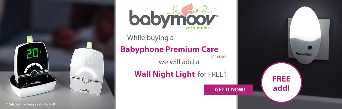 Safe your FREE wall night light right now!
