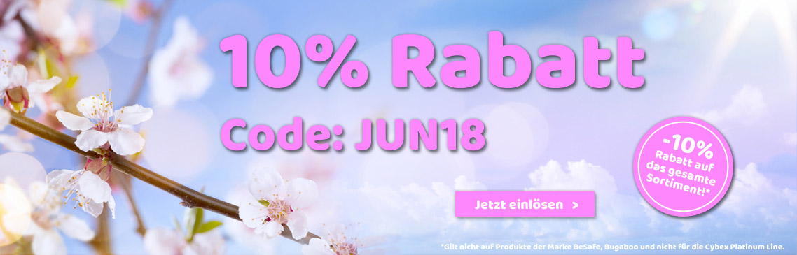 -10% discount on the whole range!