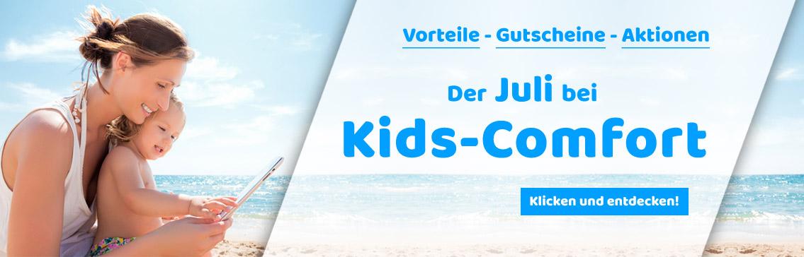 Tolle Aktionen und Gutschein-Codes im Juni bei Kids-Comfort