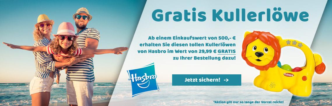 GRATIS Kullerlöwe von Hasbro sichern!
