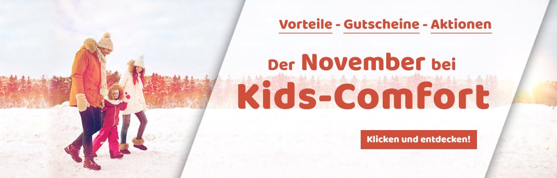 Der November bei Kids-Comfort