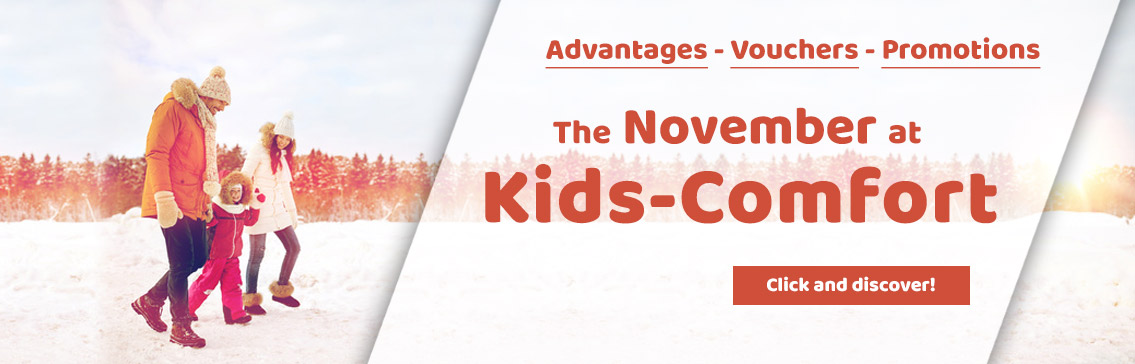 Our Promotions in October at Kids-Comfort