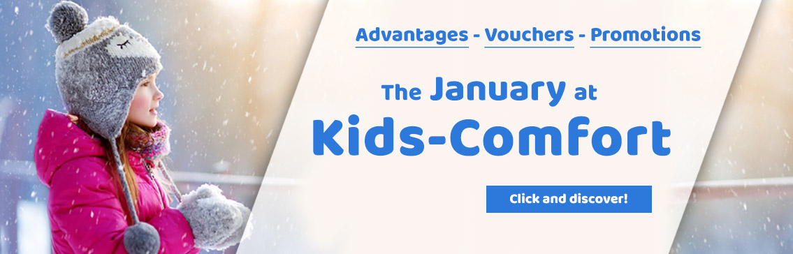 Our Promotions in January at Kids-Comfort