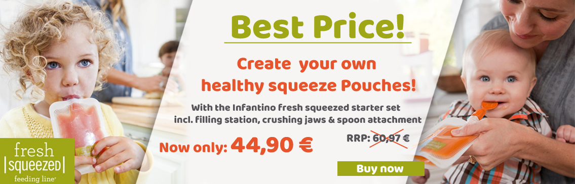 Best Price create your own healthy squeeze Pouches