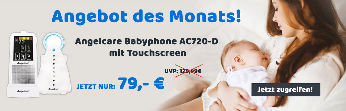 Angebot des Monats Babyphone mit Touchscreen