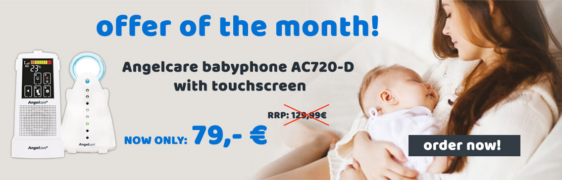 Angelcare Babyphone AC720-D with Touchscreen