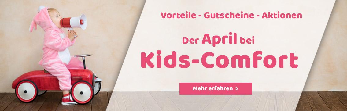 Der April bei Kids-Comfort