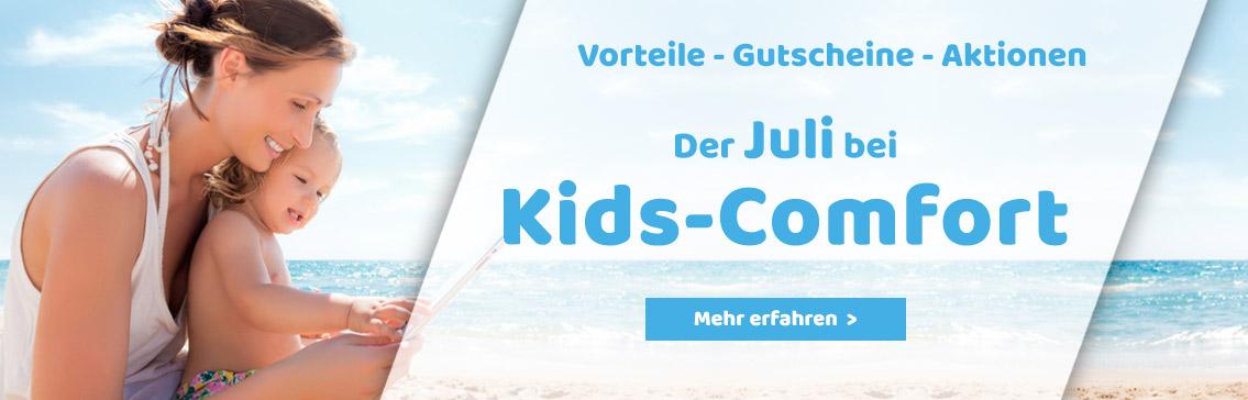 Der Juli bei Kids-Comfort