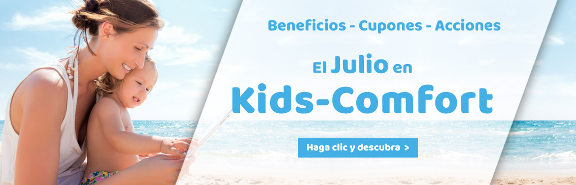 Our Promotions in july at Kids-Comfort