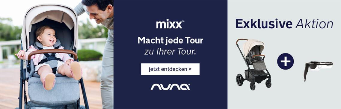 Jetzt GRATIS Snack Tray beim Kauf eines NUNA Mixx sichern!