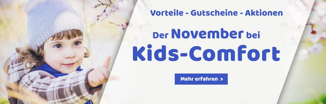 Der November bei Kids-Comfort