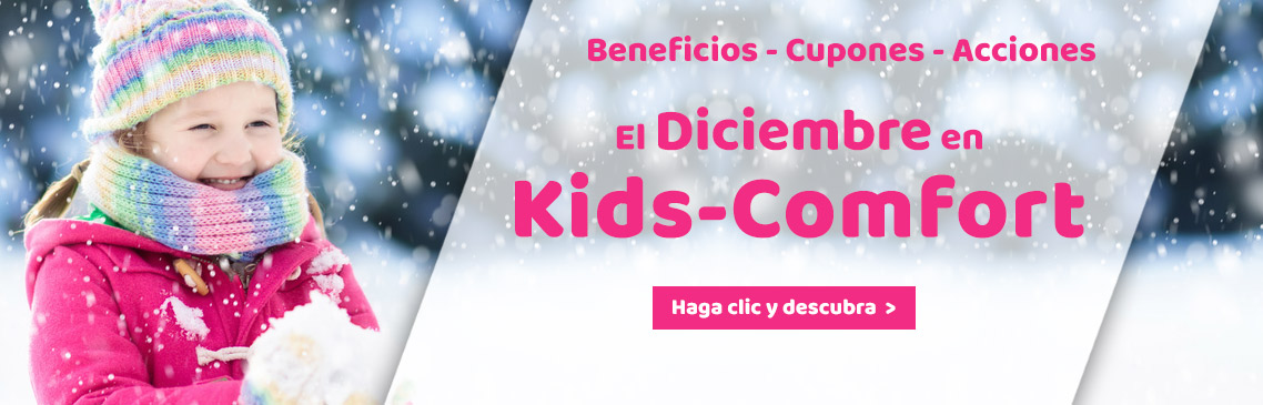 Our Promotions in december at Kids-Comfort