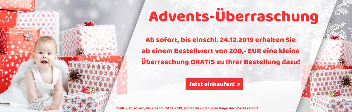 Jetzt GRATIS Überraschung beim Einkauf ab 200,- EUR sichern!