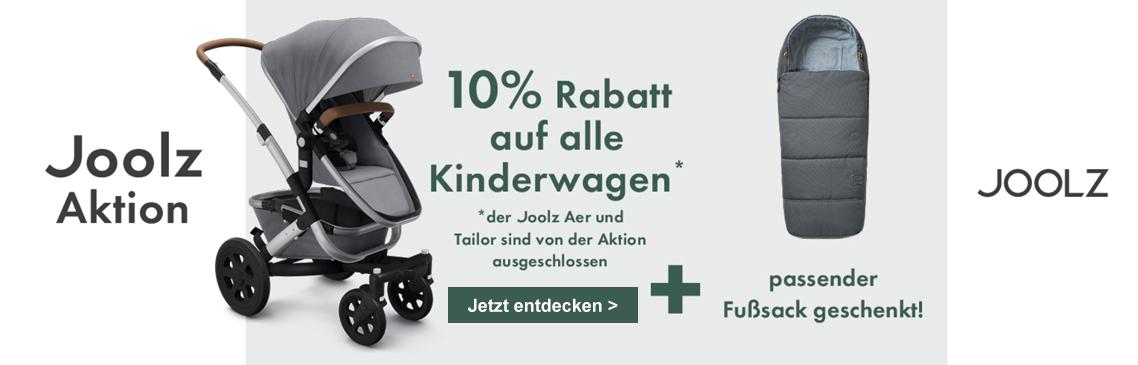 Kinderwagen von Joolz kaufen, 10% und GRATIS Fußsack sichern!