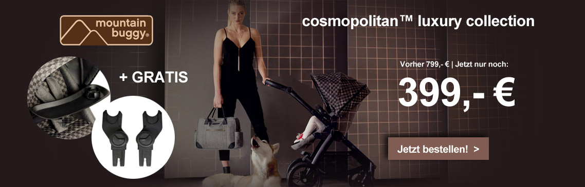 mountain buggy Cosmopolitan Luxury Bundle Design Geo