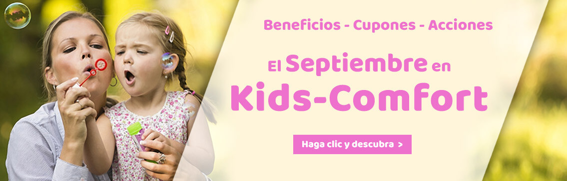 Our Promotions in september at Kids-Comfort